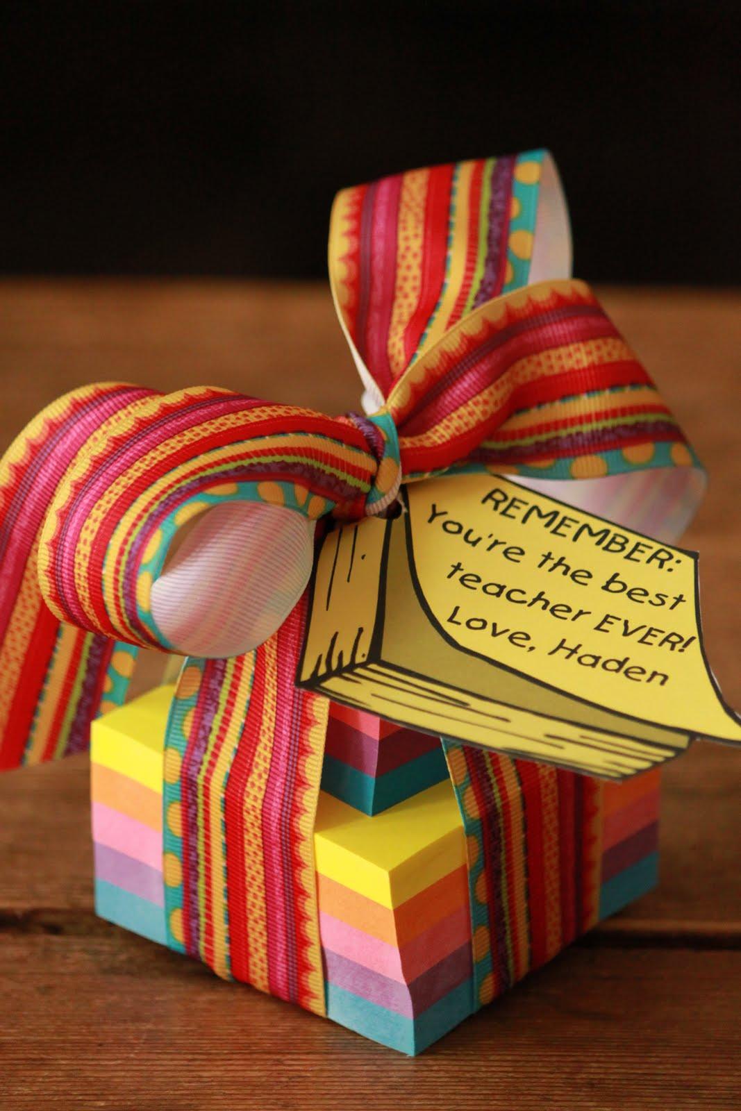 Teacher Gift For Christmas: The Blackberry Vine: My Top Ten Teacher Gifts