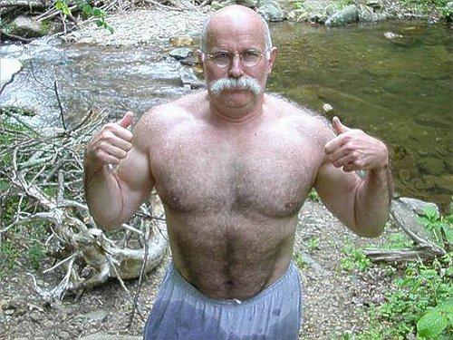 Hairy Grandpa 34