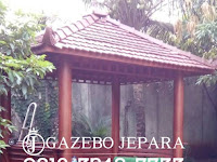 Gazebo Kayu Glugu dari Jepara yang Istimewa