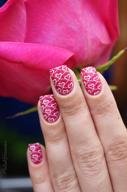 """Picture Polish """"Shocked"""" и Dana 2 stamping plate"""