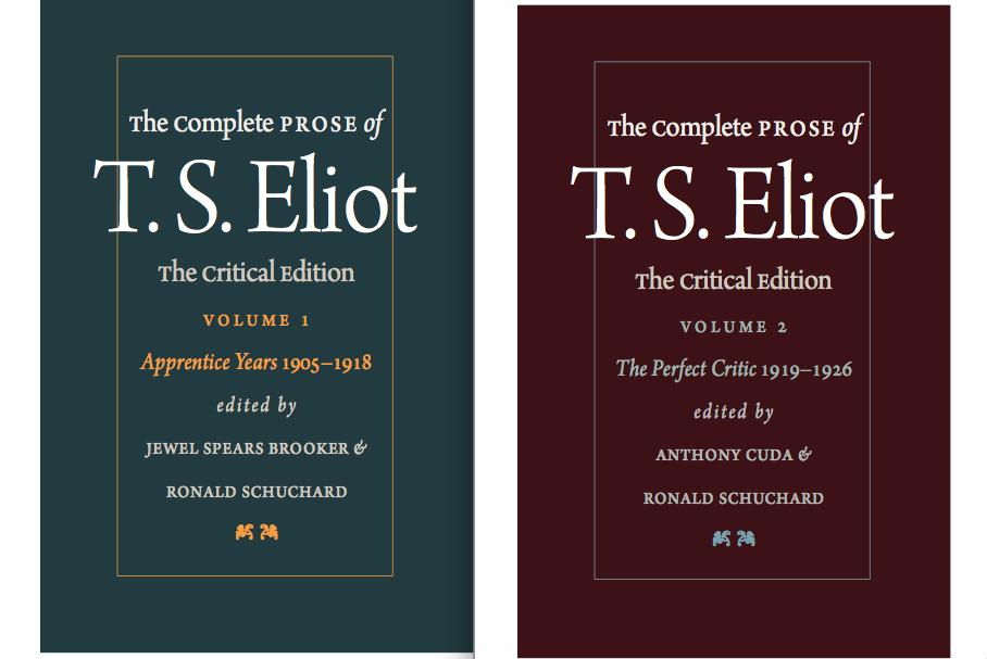 Ts eliot biography essays