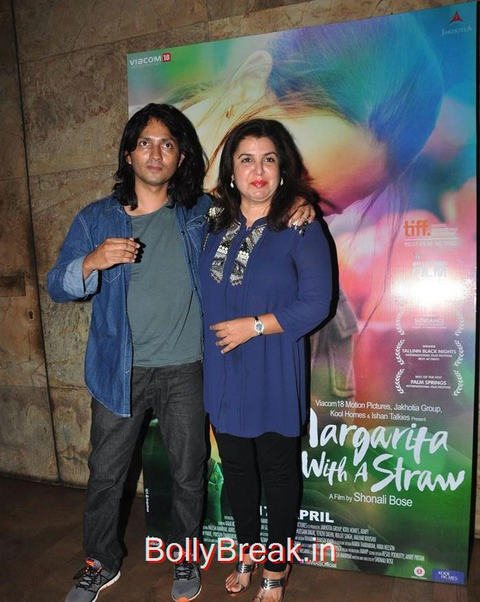 Shirish Kunder, Farah Khan, Kalki Koechlin , Aditi Rao Hydari HOt Pics From 'Margarita, With A Straw' Special Screening
