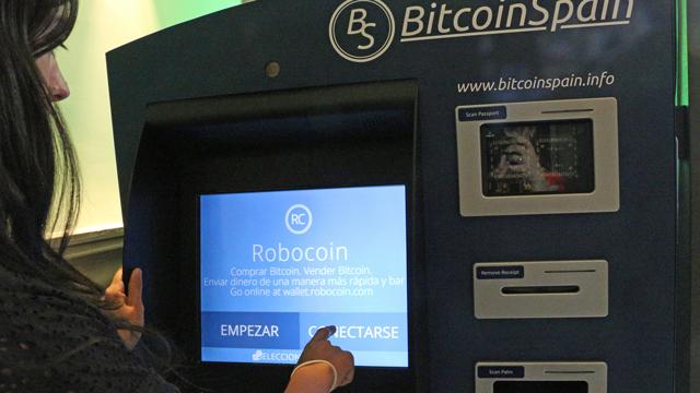 Robocoins los cajeros bitcoins puro tip for Dinero maximo cajero