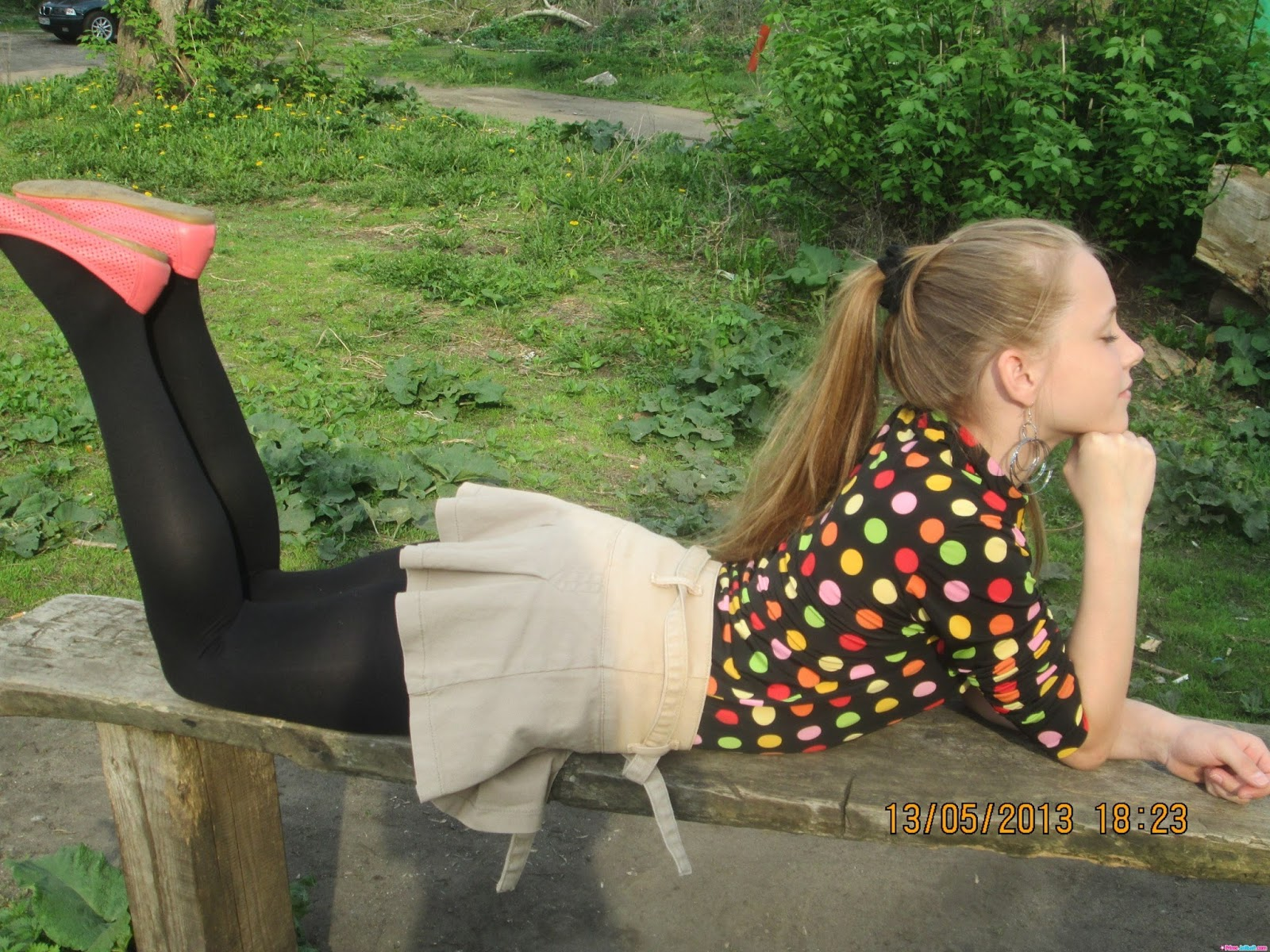 Candid pantyhose young little girls refuse. Very