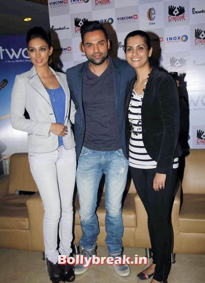 , Abhay & Preeti Desai at Launch of film One by Two merchandise