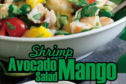Shrimp Avocado Mango Salad