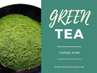 Green Tea and Curing Acne