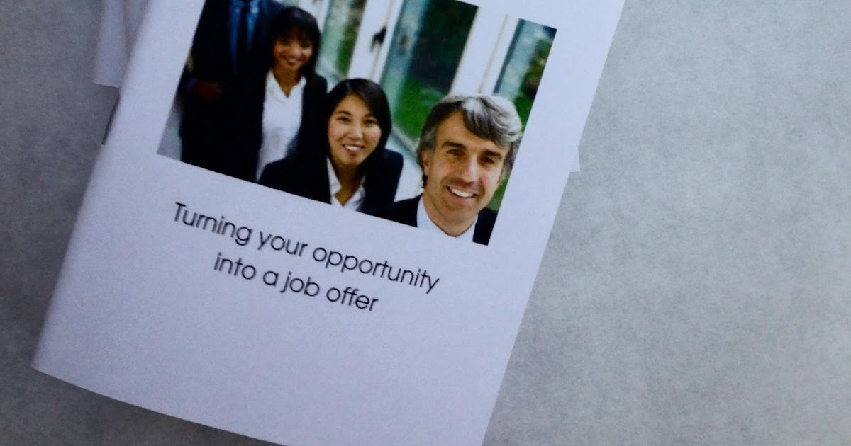 My Life All In One Place Free Job Interview Workbook