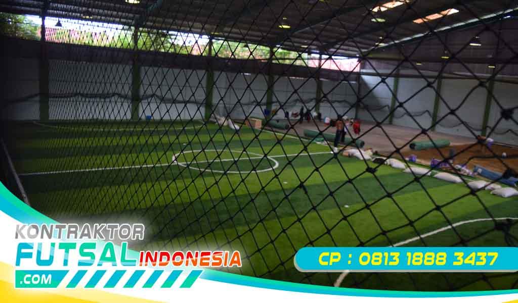 Biaya Pembangunan Lapangan Futsal Indoor Sederhana Terbaru 2020