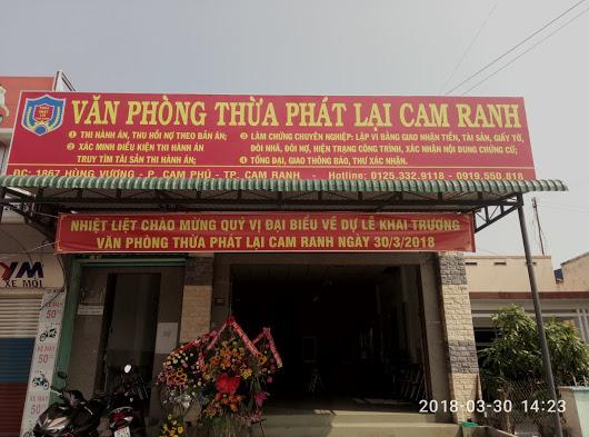 Thừa phát lại Khánh Hòa, Thừa phát lại Cam Ranh, tinthuaphatlai, thuaphatlaikhaitruong,