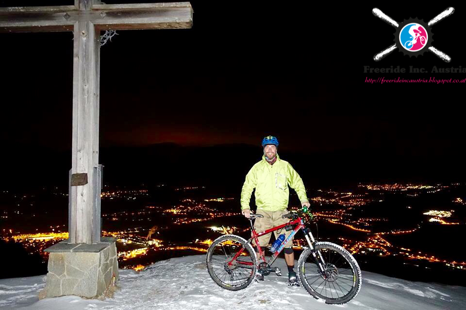 Mountainbiken im Winter Möslalmkogel Wörgl Kufstein