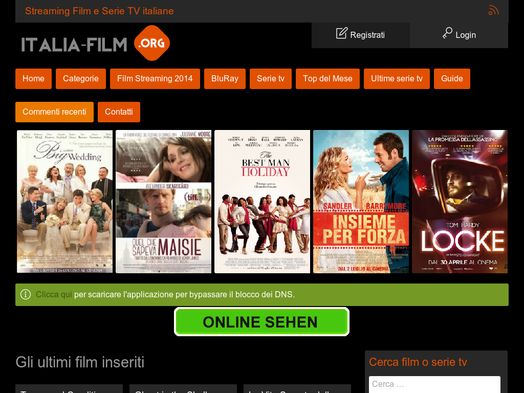 film streaming erotico come incontrare donne su internet