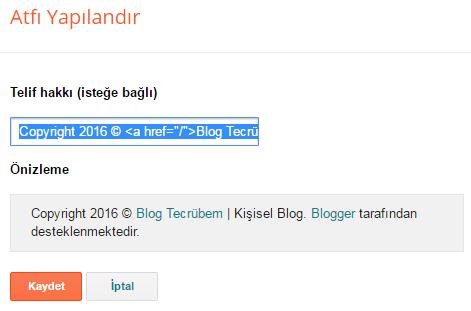 Blogger Atıf