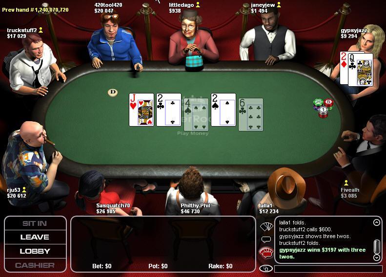 Nh poker rules