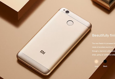 Xiaomi Redmi 4 Smartphone with 5-inch HD Display Launched in India