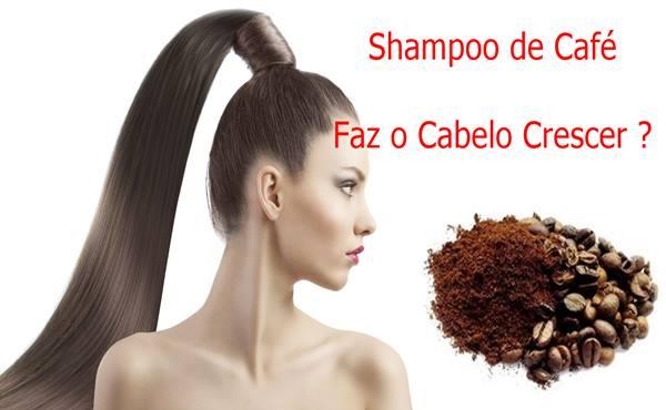 Shampoo de Cafe para o Cabelo Crescer