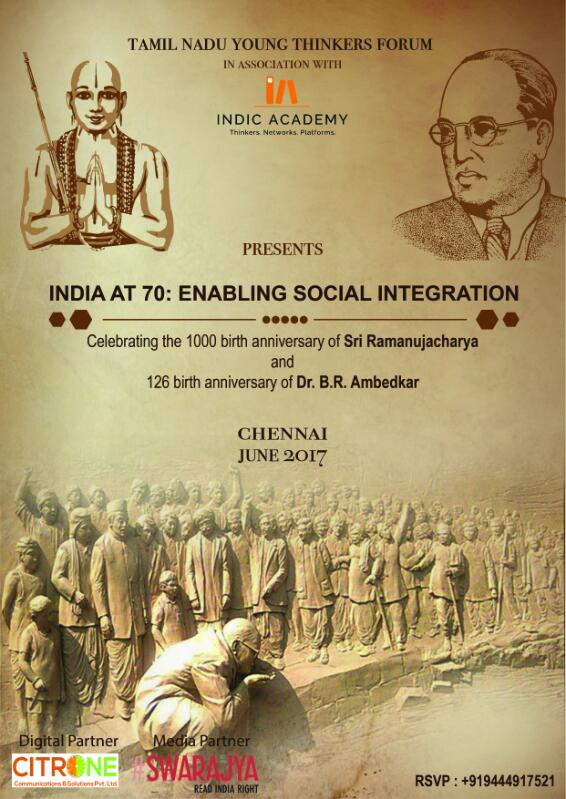 India at 70-Enabling Social Integration