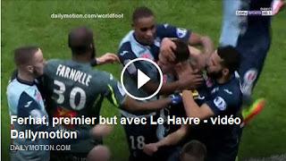 بالفيديو أول هدف لزين الدين فرحات مع فريق لوهافر هذا الموسم