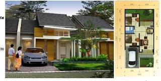 jual rumah syariah Ciater Village Subang