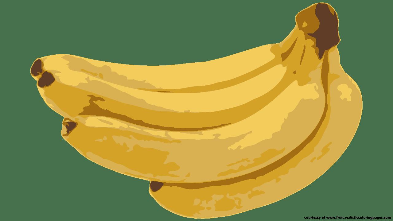 Banana Fruit Clipart Peel Pictures Clip Art