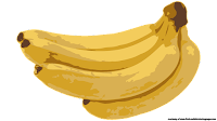 banana fruit clipart