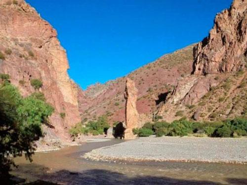 Río San Juan del Oro se seca