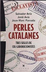 """Portada de """"Perles catalanes; tres segles de col·laboracionistes"""""""