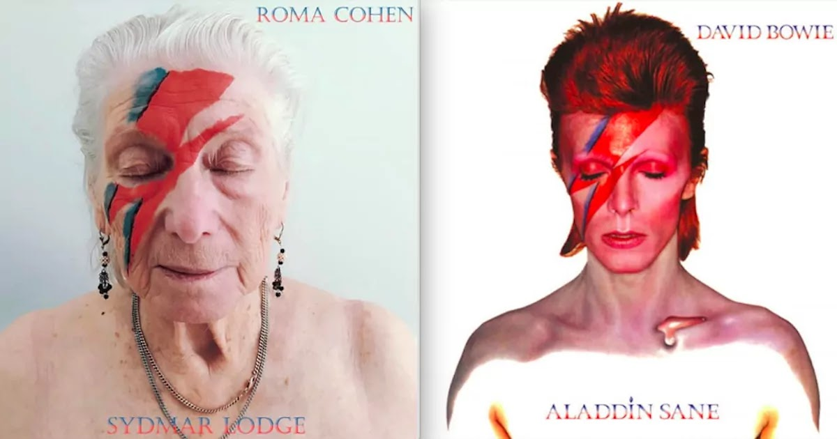 Care Home Residents In England Recreate Famous Album Covers, And The Results Are Absolutely Amazing!