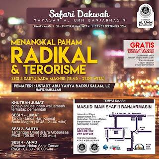 Kajian Ust. Badrusalam : Menangkal Paham Radikal & Terorisme