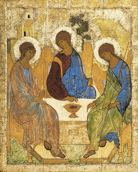 La Trinità di Rublev