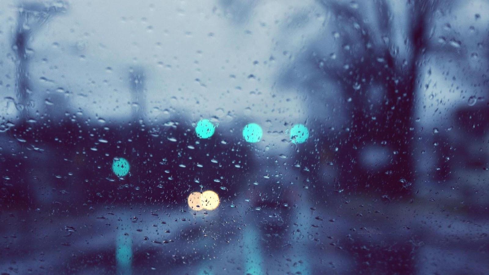 GAMBAR DP HUJAN TERBARU Rintik Hujan Sedih Galau Jadi Satu