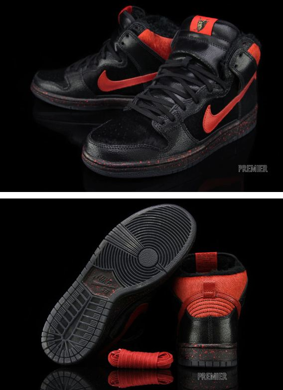 best service 9043b 4a2e8 THE SNEAKER ADDICT: Nike SB Dunk High