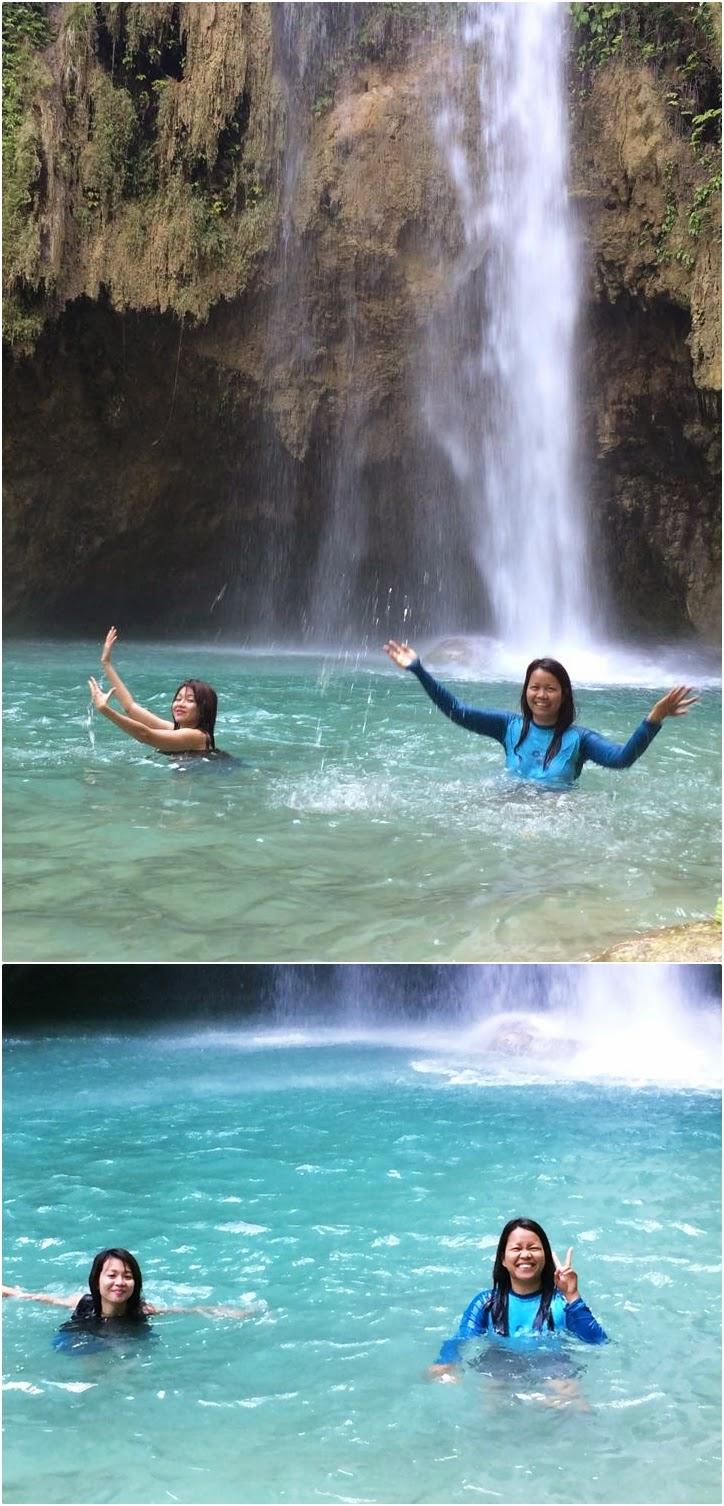 Inambakan Falls, Samboan, Cebu