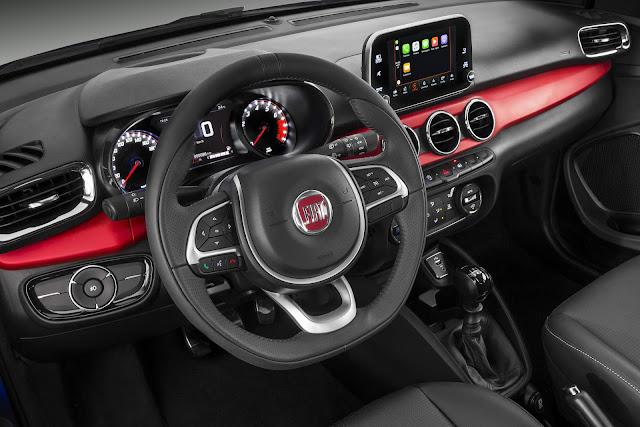 Fiat Argo HGT 1.8  - interior