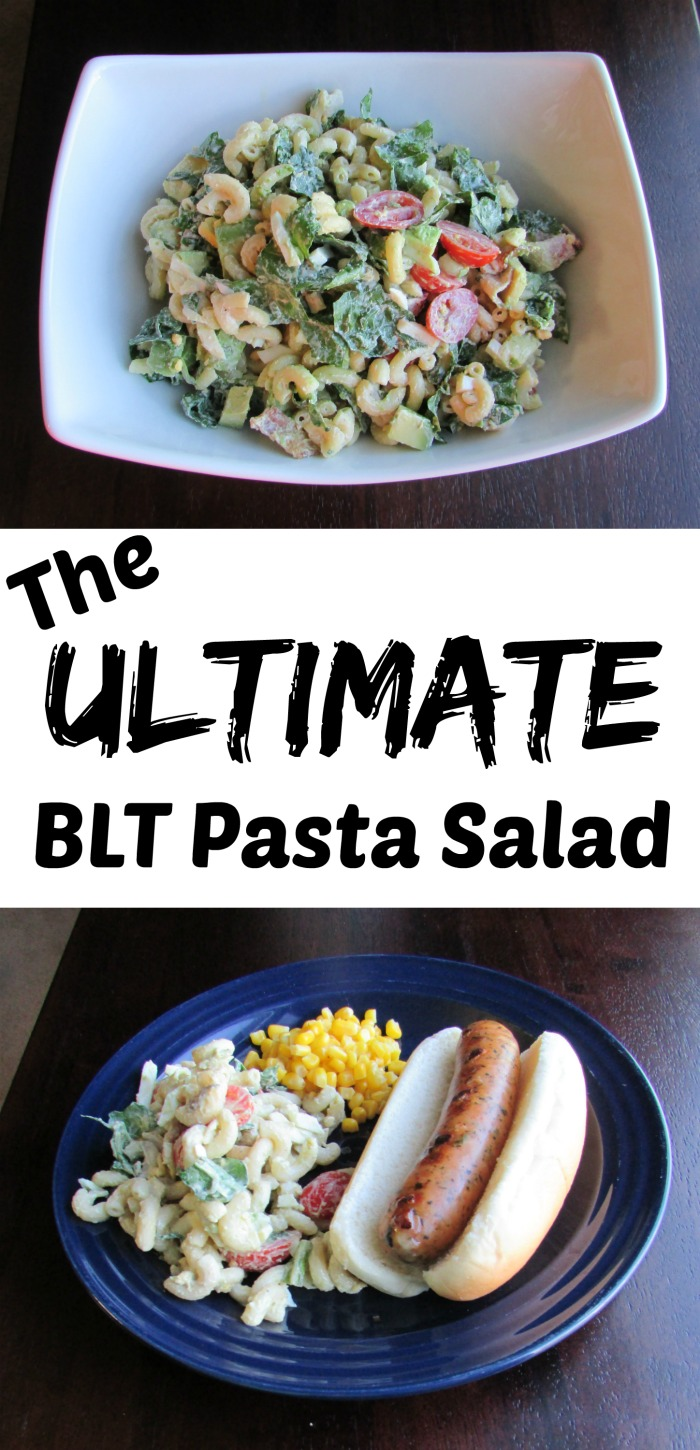 Cooking With Carlee: The Ultimate BLT Pasta Salad #SundaySupper