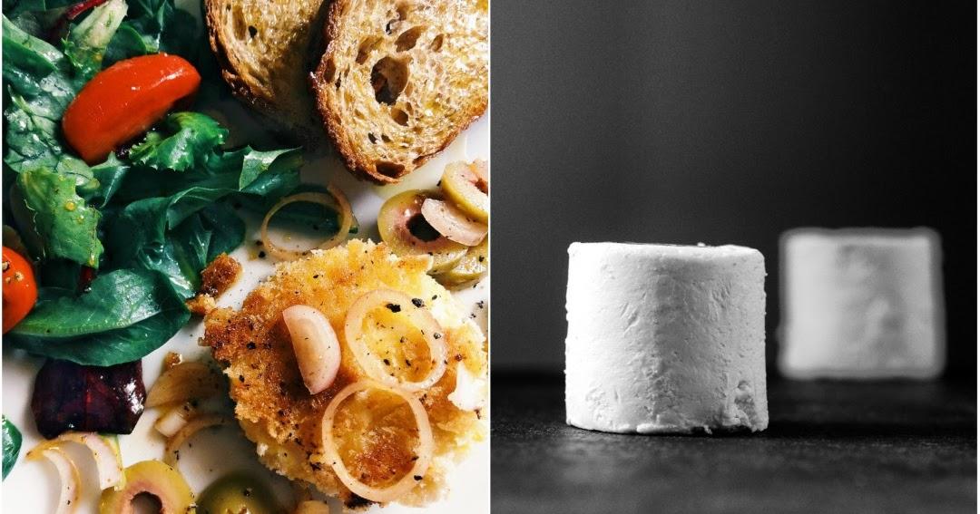 ziegenk setaler mit gr nen oliven und bruschetta ein rezept f r die kochende maus moderne. Black Bedroom Furniture Sets. Home Design Ideas