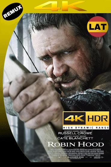 ROBIN HOOD 2010 LATINO UHD 4K HDR BDREMUX 2160P MKV