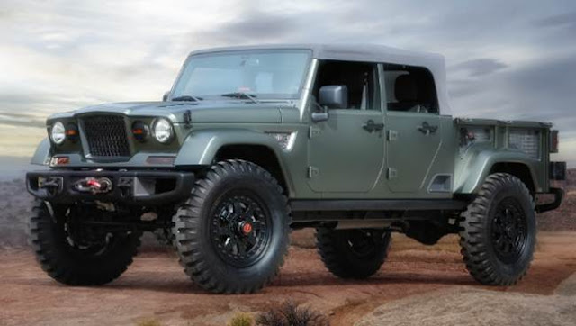 2019 Jeep Wrangler Pickup Truck Specs and Price
