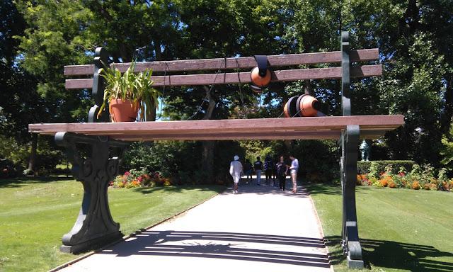 nantes, jardin des plantes, VAN, voyage à nantes, claure ponti, bullelodie