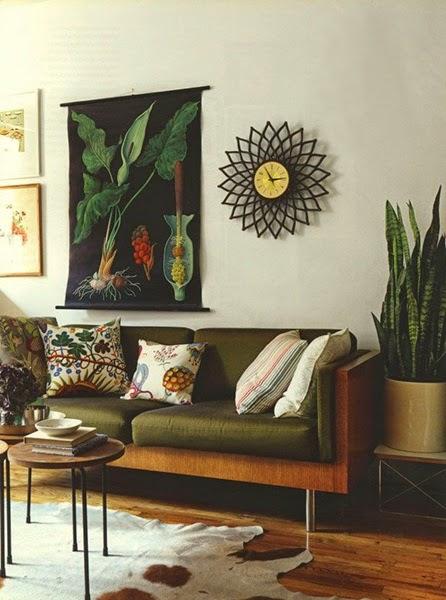 Inspiracje w moim mieszkaniu oliwkowa ziele we wn trzach for Living room 6 portland