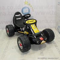 Junior TR6628 Gokart Rechargeable-battery Operated Toy Car Black
