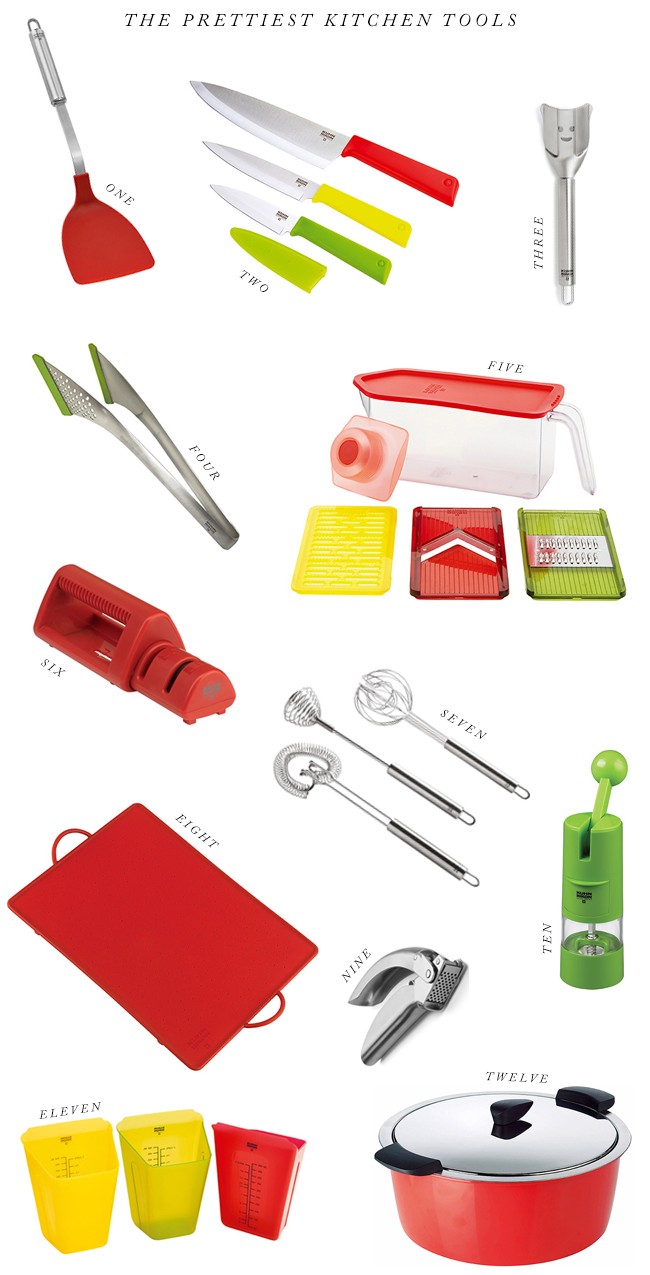 High Quality Kitchen Tools That Look Pretty Too (via Bubby and Bean