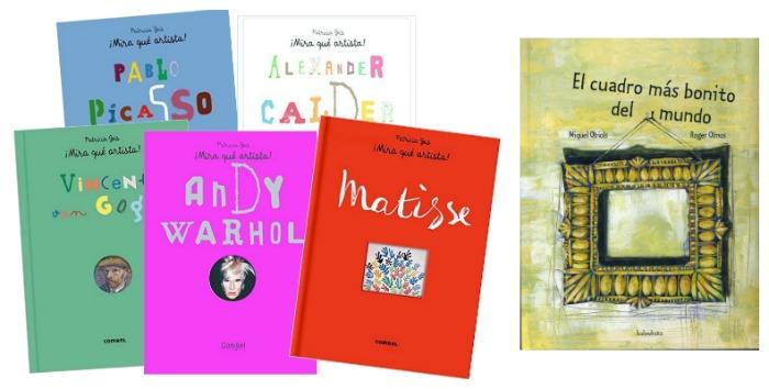 cuentos sobre vida artistas para acercar el arte a los niños: los mejores libros infantiles de arte