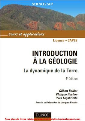 Télécharger Livre Gratuit Introduction à la géologie - La dynamique de la Terre pdf