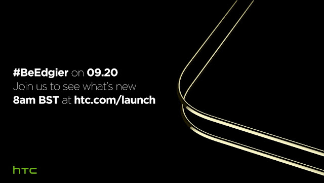 Teaser HTC new device live on Twitter