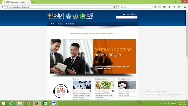 Balin Bahari (PK-69)-Beasiswa Pendidikan Indonesia LPDP