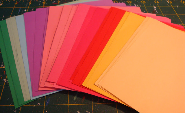 Các loại giấy thông dụng trong Origami