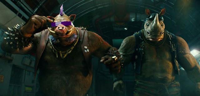 Cenas inéditas no comercial de As Tartarugas Ninja - Fora das Sombras