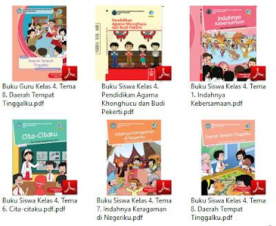 Buku Kurikulum 2013 SD Kelas 4 Tema Peduli Terhadap Makhluk Hidup Revisi 2017