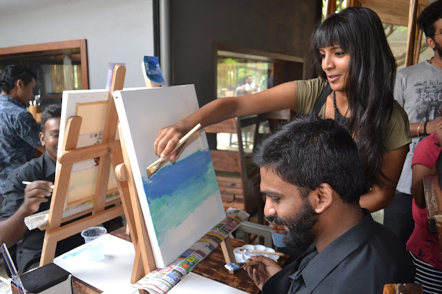 Popular artist Jyoti Rawat will conduct the live painting event on 25th February
